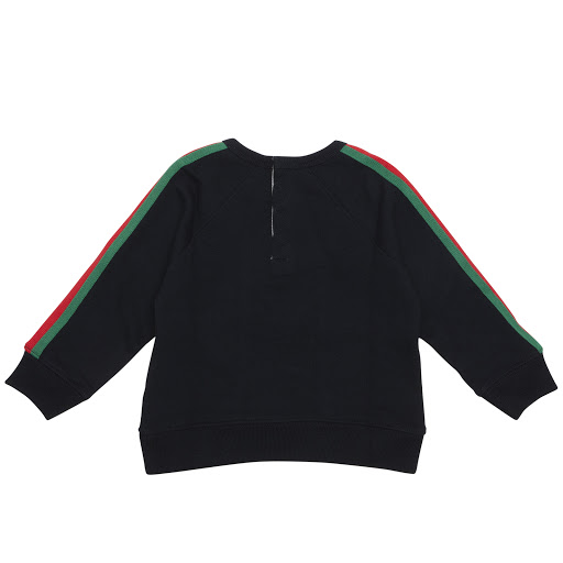 Thumbnail images of Gucci Baby Web Trim Sweatshirt