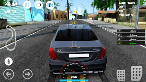Car Racing Mercedes - Benz Game 1.0 screenshots 1