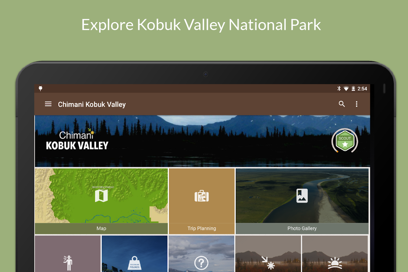 Kobuk Valley NP by Chimani- screenshot