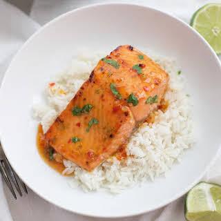 Thai Sweet Chili & Lime Salmon.