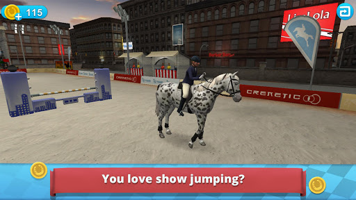 Horse World – Show Jumping - For all horse fans! apklade screenshots 1