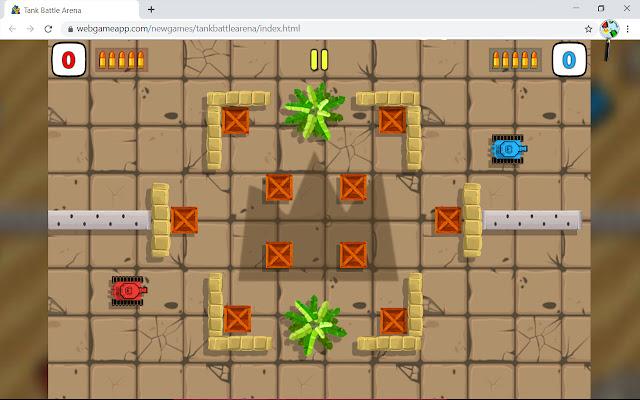 Tank Battle Arena Game