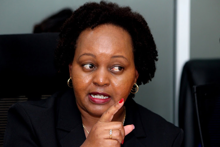"I shall not be bullied,"" Defiant Waiguru says ahead of planned impeachment motion"
