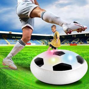 Minge disc fotbal cu aer si lumini oferta reducere 7