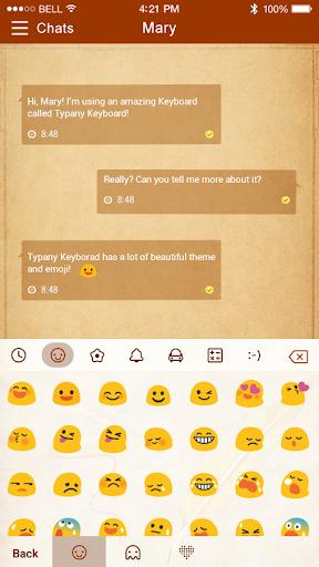 mod Old Paper Typany Theme 4.5 screenshots 2