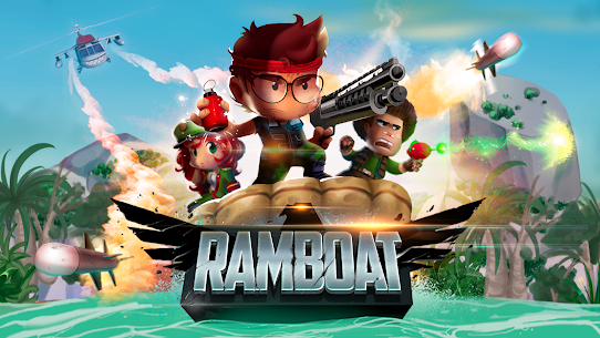 Ramboat Offline Jumping Shooter and Running mod [Free purchase] (MOD, Unlimited Gold/Gems) 6