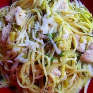 Chicken & Zucchini Scampi - Cass's