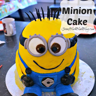 How to make a Minions Cake   DIY Minions Cake.
