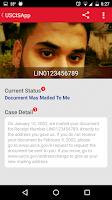 Screenshot of USCIS Case Status Notifier