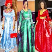 Bazin Gown Design & Styles.