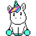 Unicorn Color By Number - Logo
