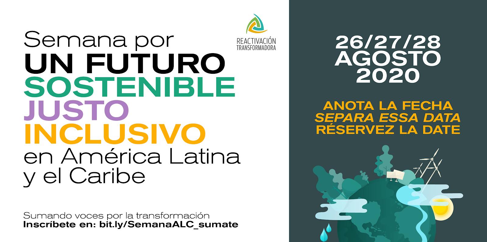 Semana por un Futuro Sostenible, Justo e Inclusivo en América Latina y el Caribe