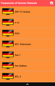 Frequencies of German Channels screenshot 2