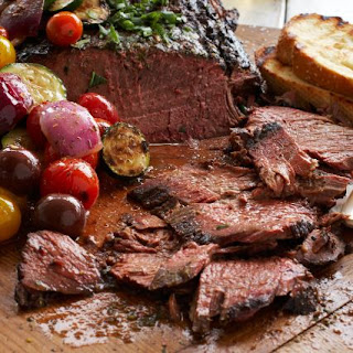 Soy-Ginger Marinated Flank Steak