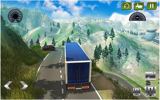 américain euro un camion Simulateur Jeux  captures d'écran 2