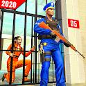US Police Grand Jail break Prison Escape Games icon