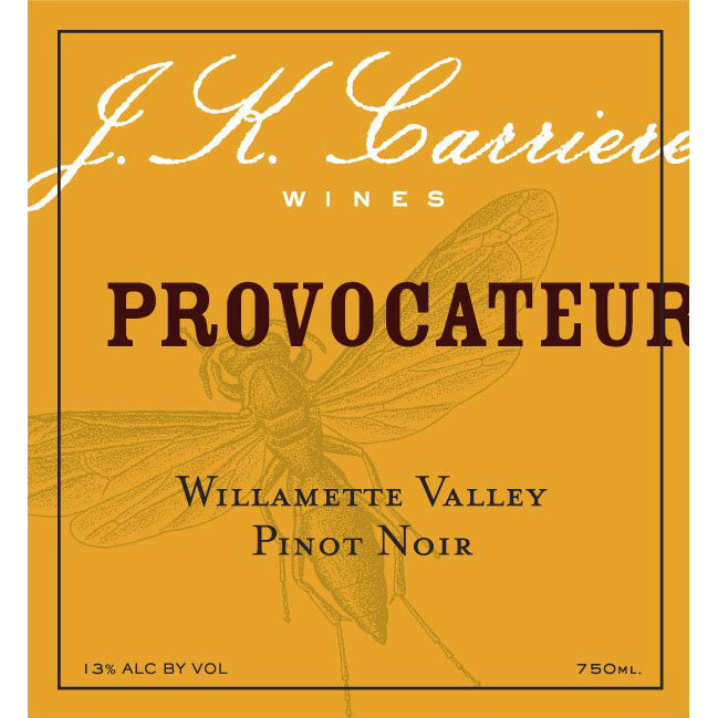 Logo for J.K. Carriere Provocateur Pinot Noir