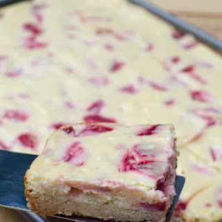Strawberry Cheesecake Cookie Bars.