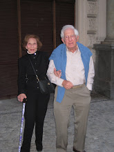 Photo: Adrienne and Fred Straus.  This was their 28th Road Scholar tour.