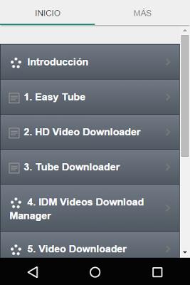 Como Descargar Videos - screenshot
