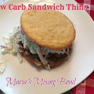 Low Carb Sandwich Thins.