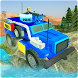 Offroad Police jeep Simulation