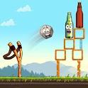 Slingshot Shooting Games: Bottle Shoot Free Games icon