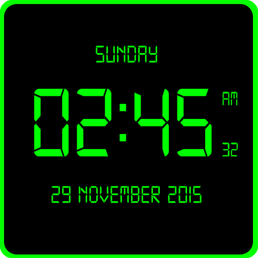 LED Digital Clock LiveWP file APK for Gaming PC/PS3/PS4 Smart TV
