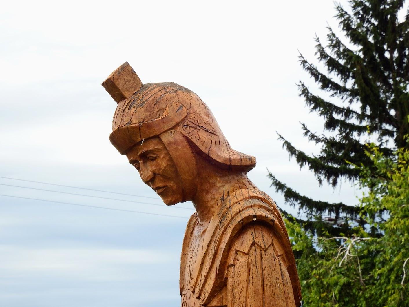 Vonyarcvashegy - Római katona szobra