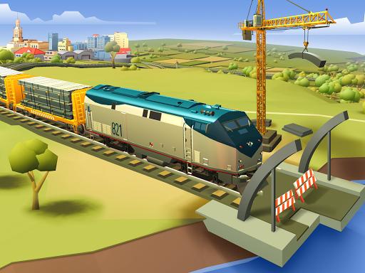 Train Station 2: Rail Strategy & Transport Tycoon 1.24.3 screenshots 4