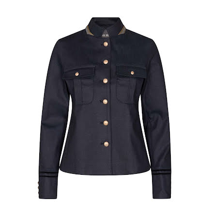 Mos Mosh Selby gallery jacket blue