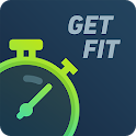 Fitness by GetFit: Daily workout. Exercise at home icon