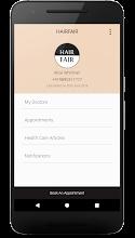 HairFair Skin Clinic screenshot thumbnail