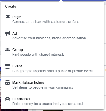 Crear campaña con Facebook Ads