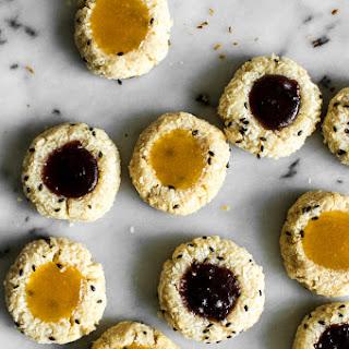 Easy Coconut Thumbprint Cookies