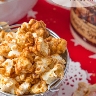 Maple Gingerbread Popcorn