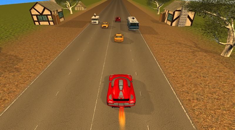 Скриншот Traffic Racer 2 3D