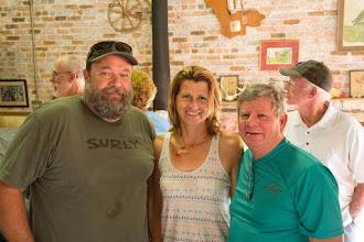Photo: Wayne with Ida & Jimmy