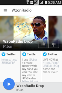WzonRadio- screenshot thumbnail