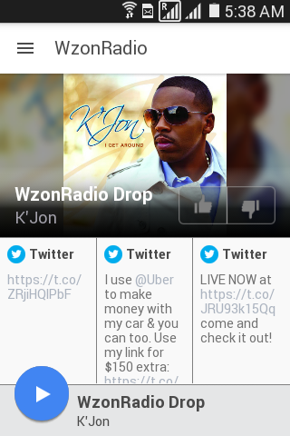 WzonRadio- screenshot
