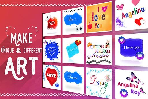 Name Art - Focus Filter - Name Card Maker 1.1.4 screenshots 6