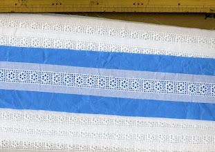 Photo: №864509-000綿レース:巾33mm