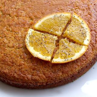 Orange and Almond Cake.