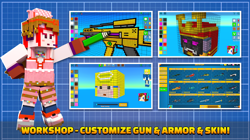 Cops N Robbers - 3D Pixel Craft Gun Shooting Games 9.8.4 Screenshots 7