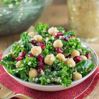 Christmas Kale & Quinoa Salad.