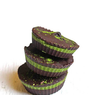 Chocolate Matcha Cups.
