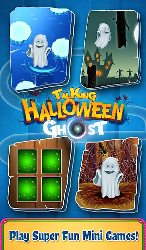 玩免費教育APP|下載Talking Halloween Ghost app不用錢|硬是要APP
