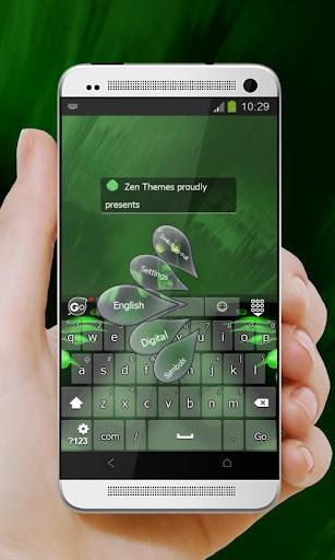 綠色的蝴蝶Lǜsè de húdié GO Keyboard