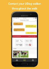UDog - Instant Dog Walking Services screenshot thumbnail
