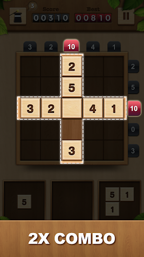 TENX - Wooden Number Puzzle Game 1.1.3 screenshots 4